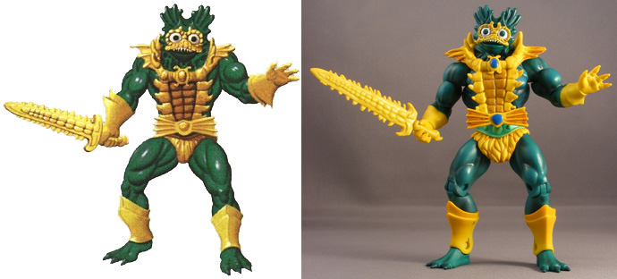 Masters of the Universe Classics Mer-Man