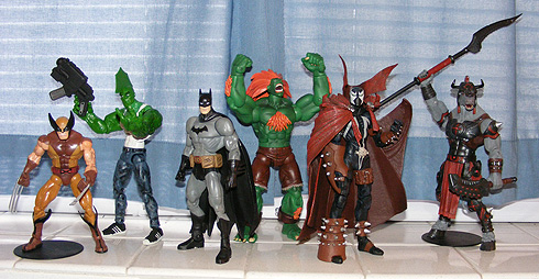 Batman and the Six-Inch Outsiders