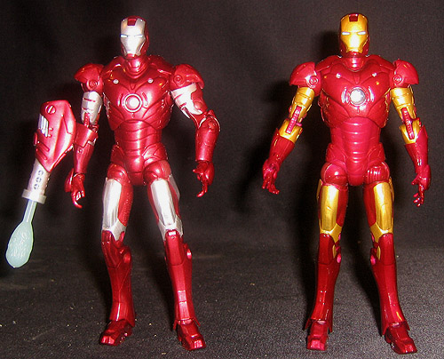 Repulsor Red Prototype Iron Man