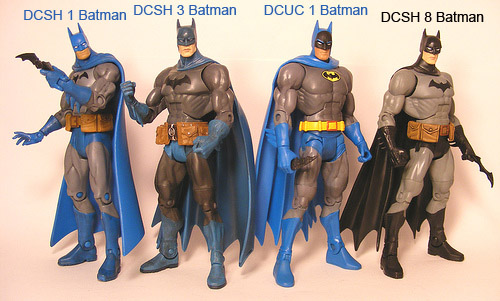 The Many Outfits of Batman