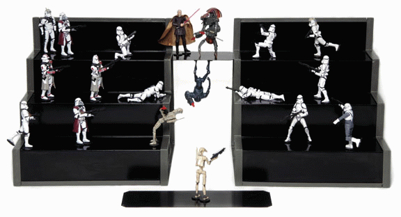 display stand action figure