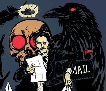Going Postal > Poe makes do