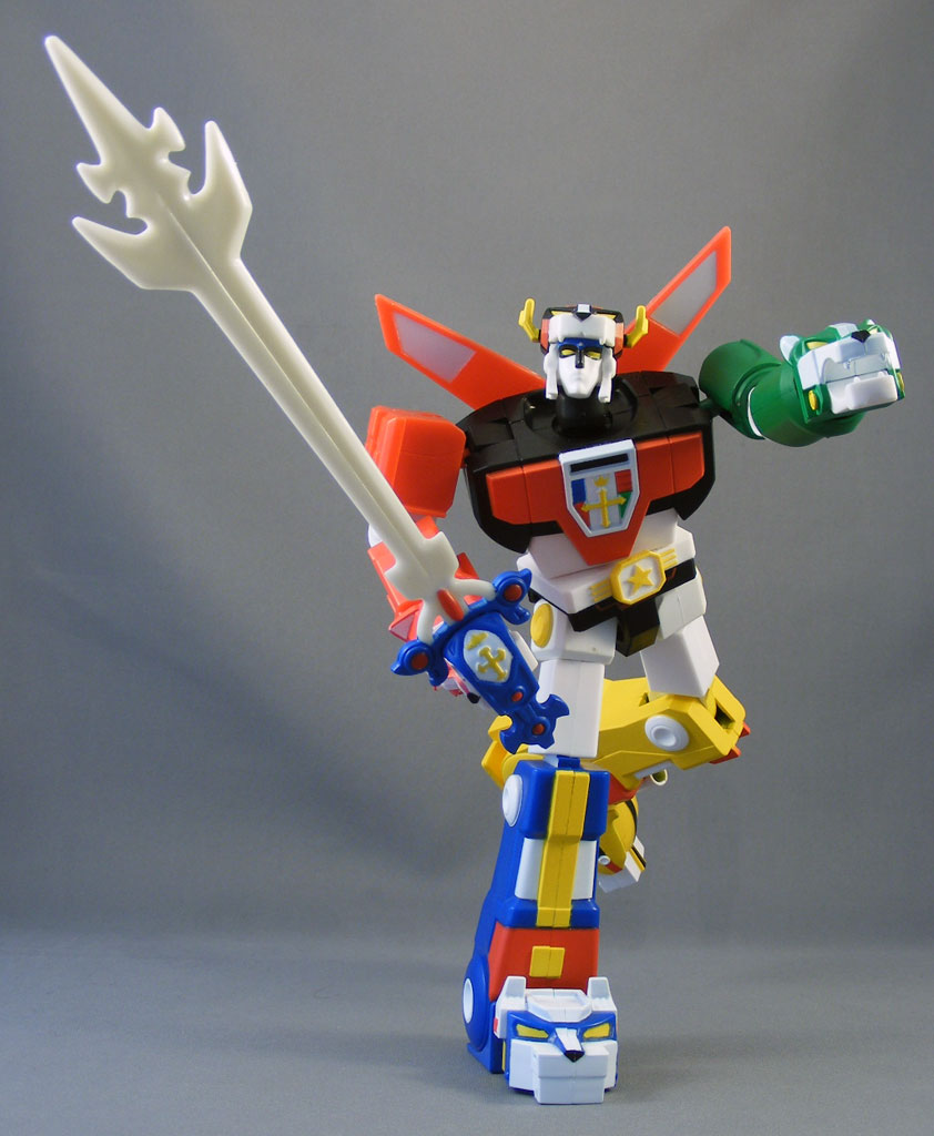 Review > 6″ Blazing Sword Voltron (Voltron, Mattel ...