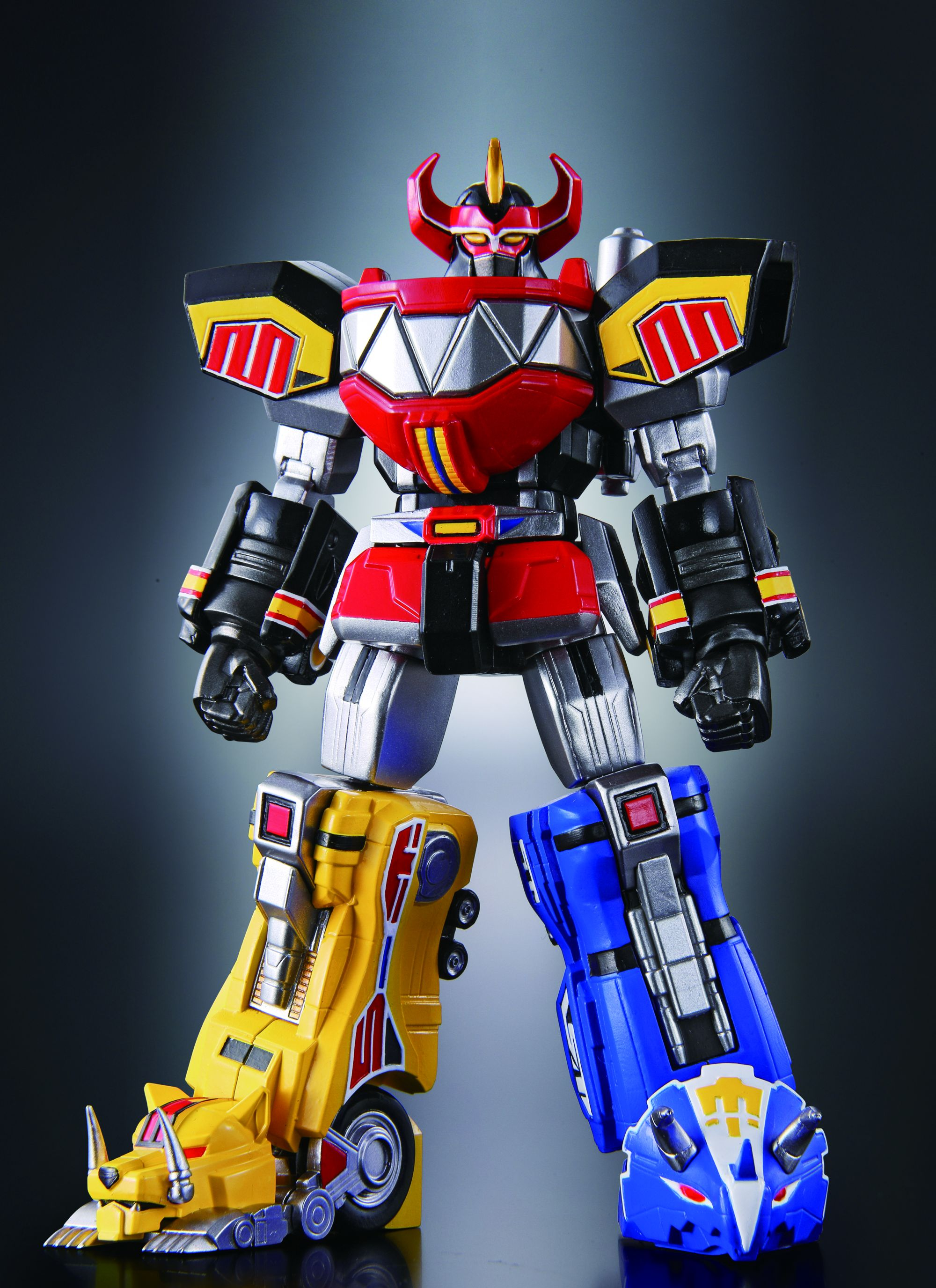 Uncategorized Power Rangers Robot tamashii nations bringing super robot chogokin megazord to the posted