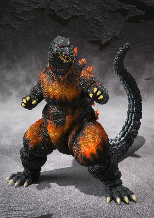 Sightings > S.H.MonsterArts Burning Godzilla