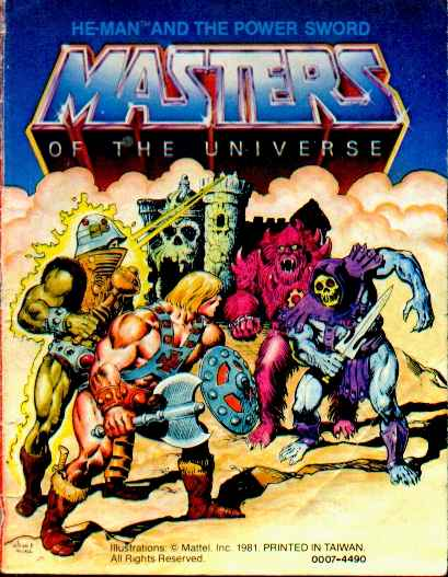 Minicomic Monday > #1: He-Man and the Power Sword