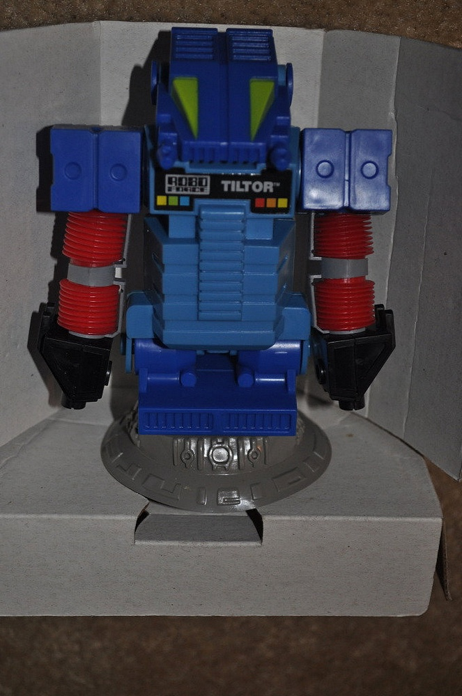 """Sightings > Rare Robo Force Figure """"Tiltor"""" Unearthed"""