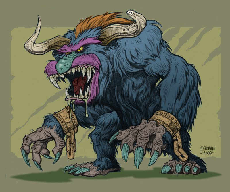 Sightings > My Pet (Badass) Monster