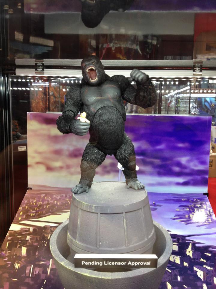 S.H.MonsterArts King Kong Revealed
