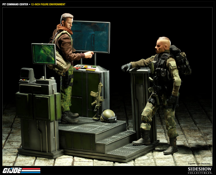 Sightings > Sideshow Collectables G.I. Joe Pit Command Center Giveaway