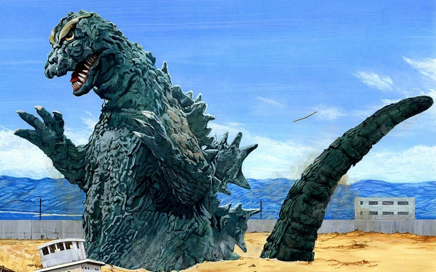 New List Up at Topless Robot: 10 Greatest Giant Movie Monsters of All Time