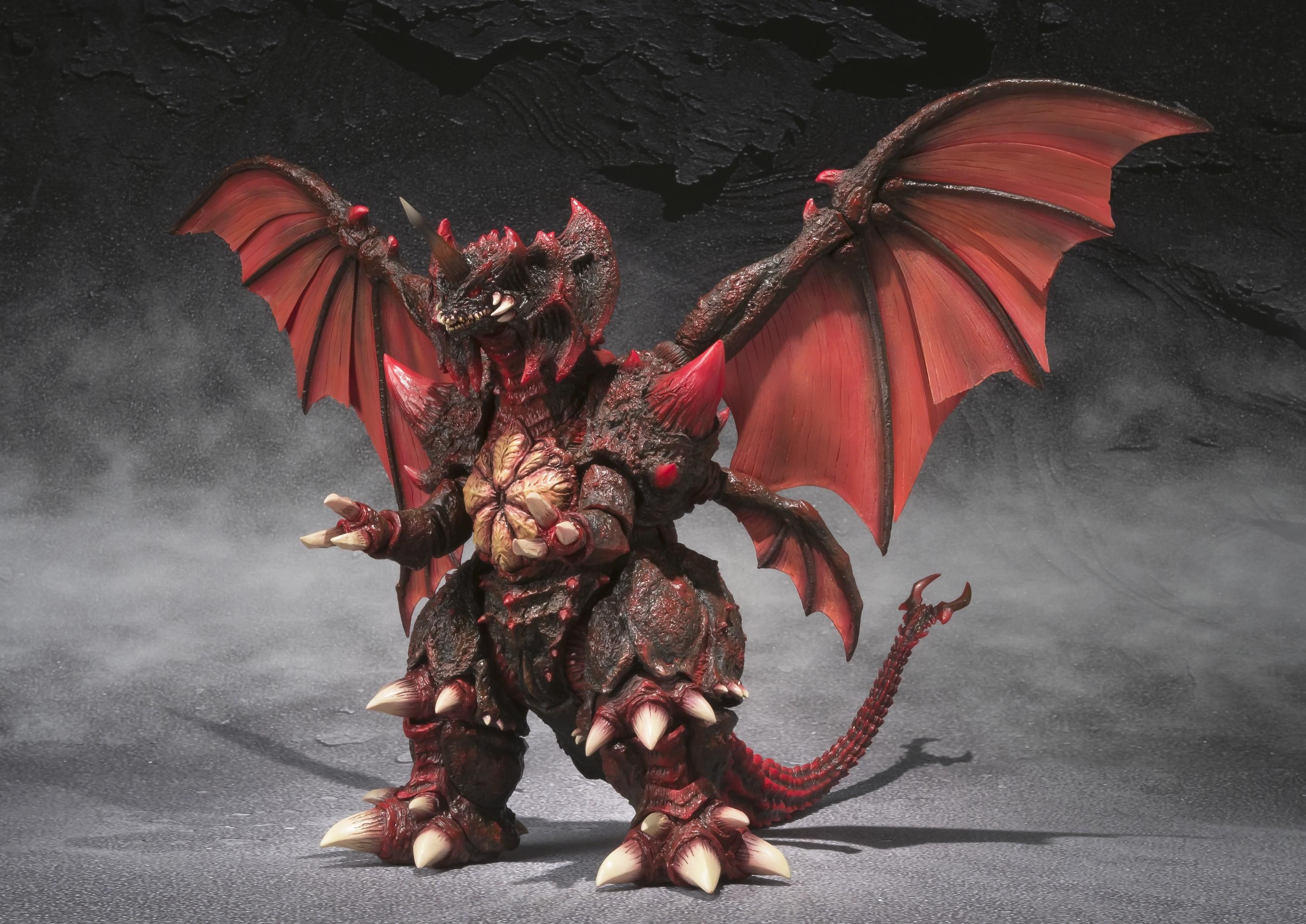 S.H.MonsterArts Destoroyah Hi-Res Pics
