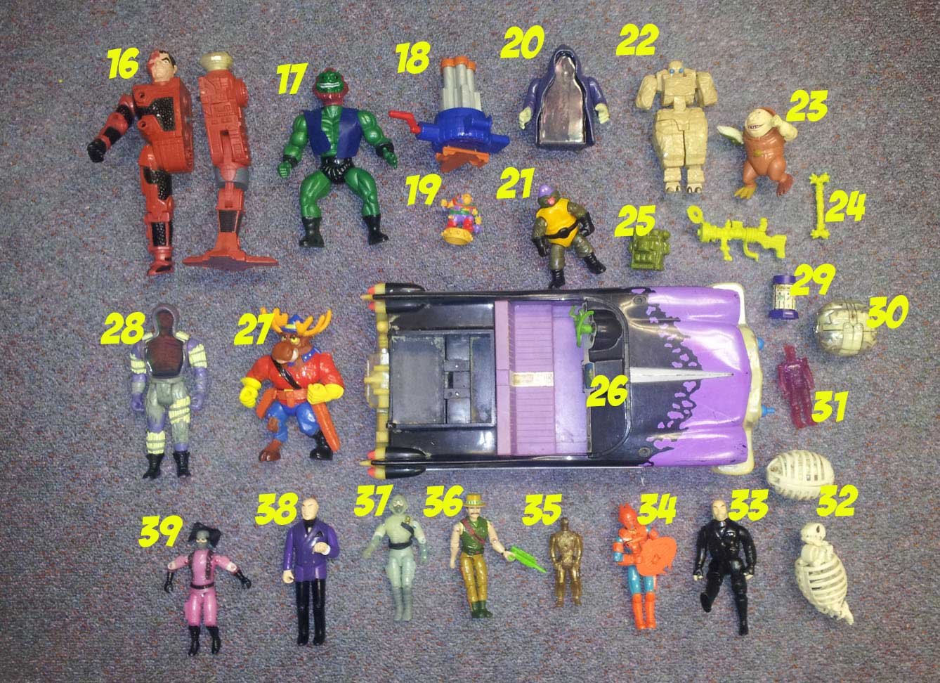 Identify the Toy Contest Winners