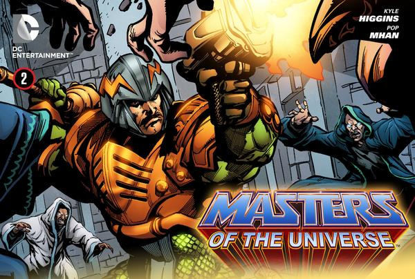 "Comic Review > ""Man-At-Arms"" (Masters of the Universe, Web Exclusive, DC Comics)"
