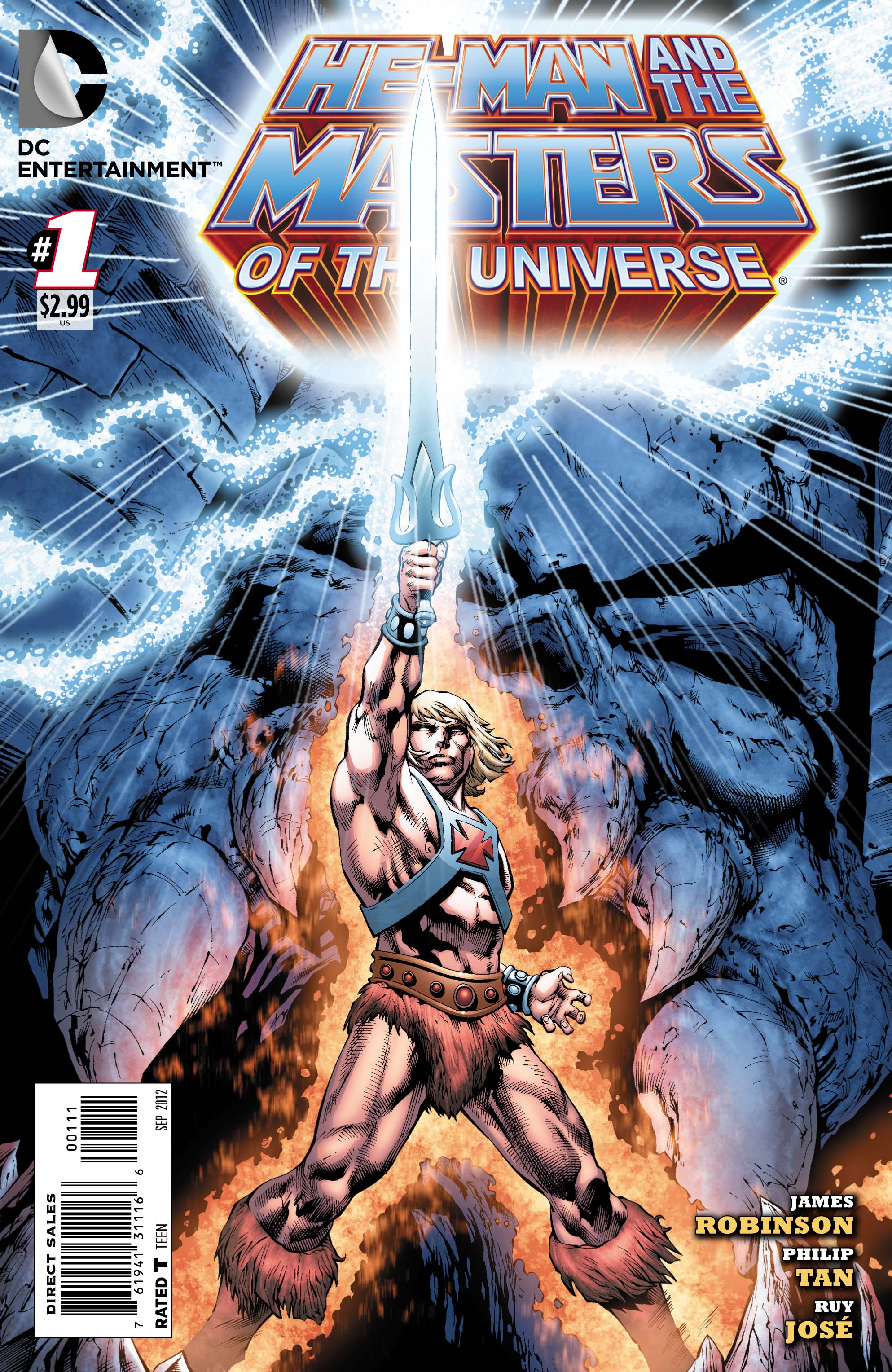 Comic Review > He-Man and the Masters of the Universe #1 (DC Comics)