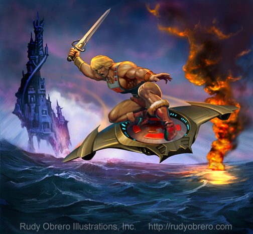 Interview > Rudy Obrero, Artist for Masters of the Universe & More