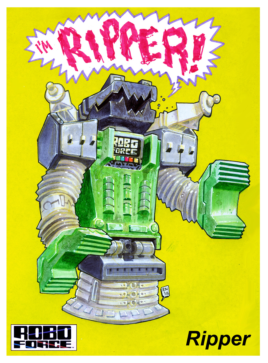 Interview > DoctorKent of Toyfinity talks new Robo Force