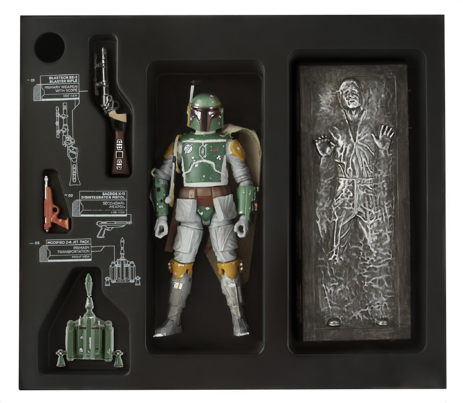Star Wars Black Boba Fett Possibly One of the Greatest Action Figures Ever Made