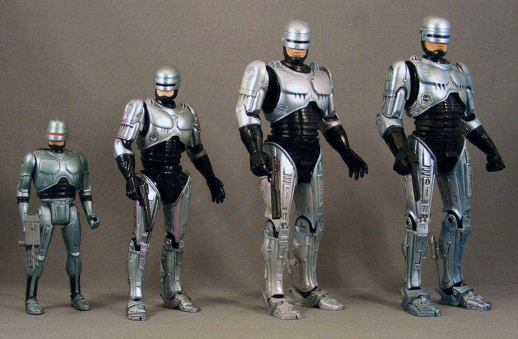 Used.Good figma RoboCop Figure Max Factory Used