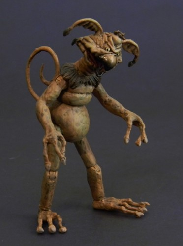 Fully poseable Salacious Crumb