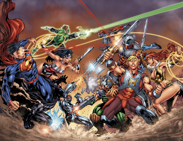 When Worlds Collide: Masters of the Universe vs. DC Universe