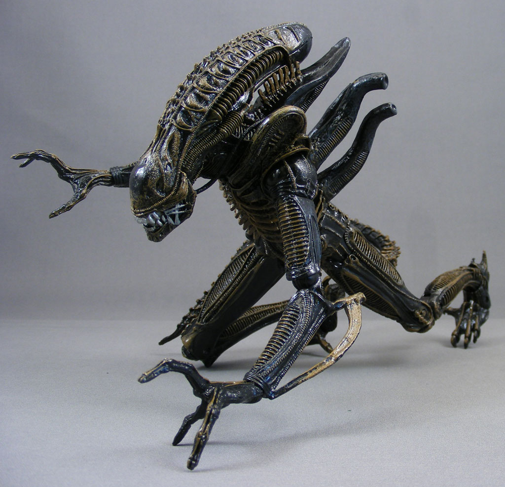 review gt xenomorph warrior aliens neca poeghostal