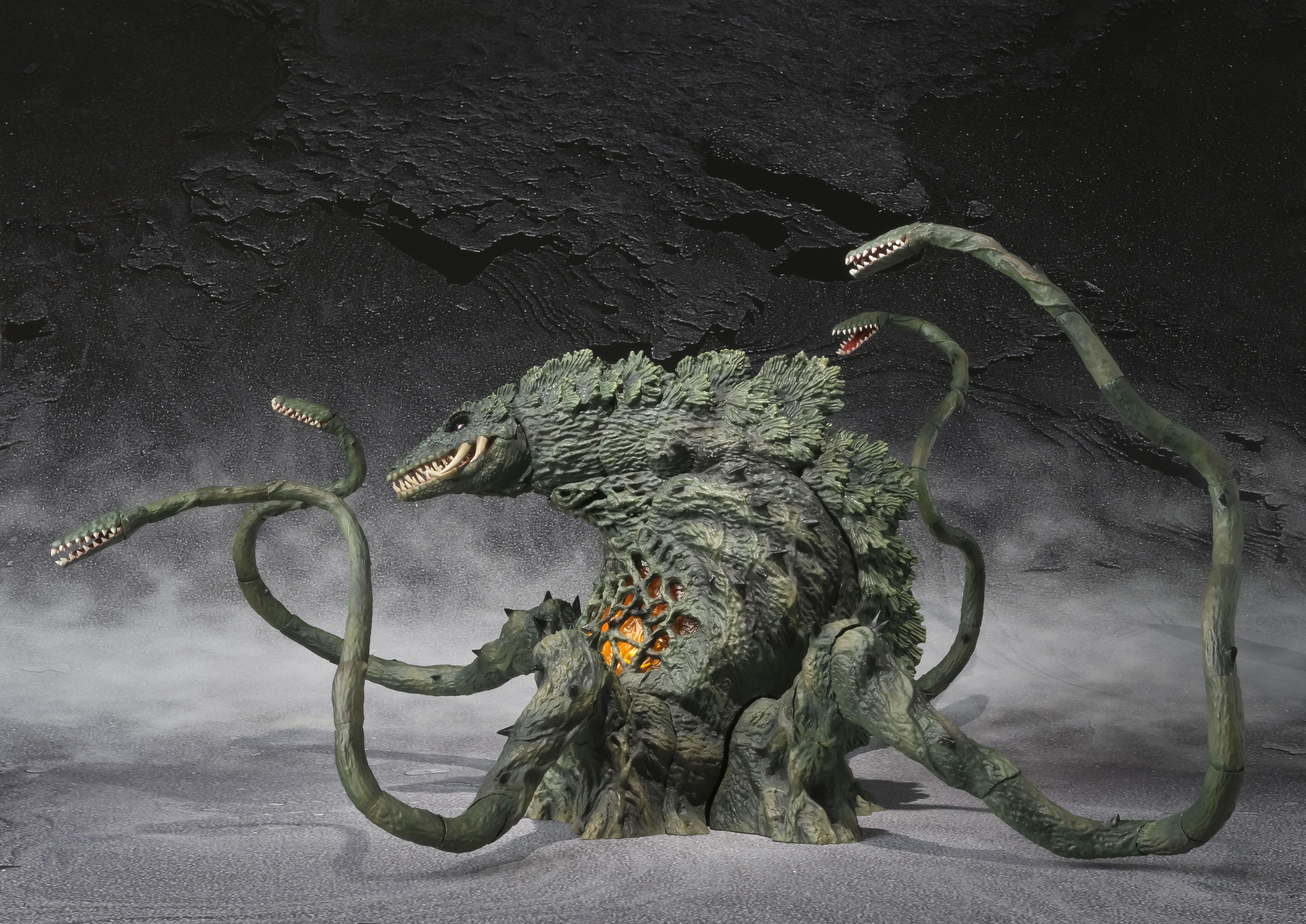 Hi-Res S.H.MonsterArts Biollante Photos