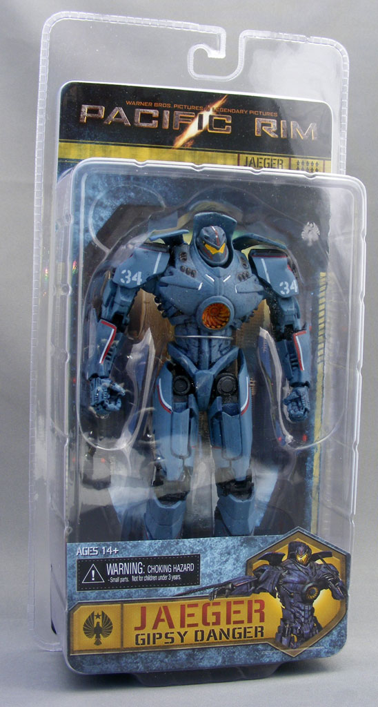 Packaging The figure comes in  Pacific Rim Gipsy Danger Toy