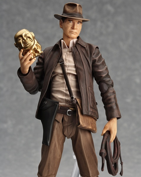 Figma announces 6″ Indiana Jones from Raiders (with head sculpt from Crystal Skull)