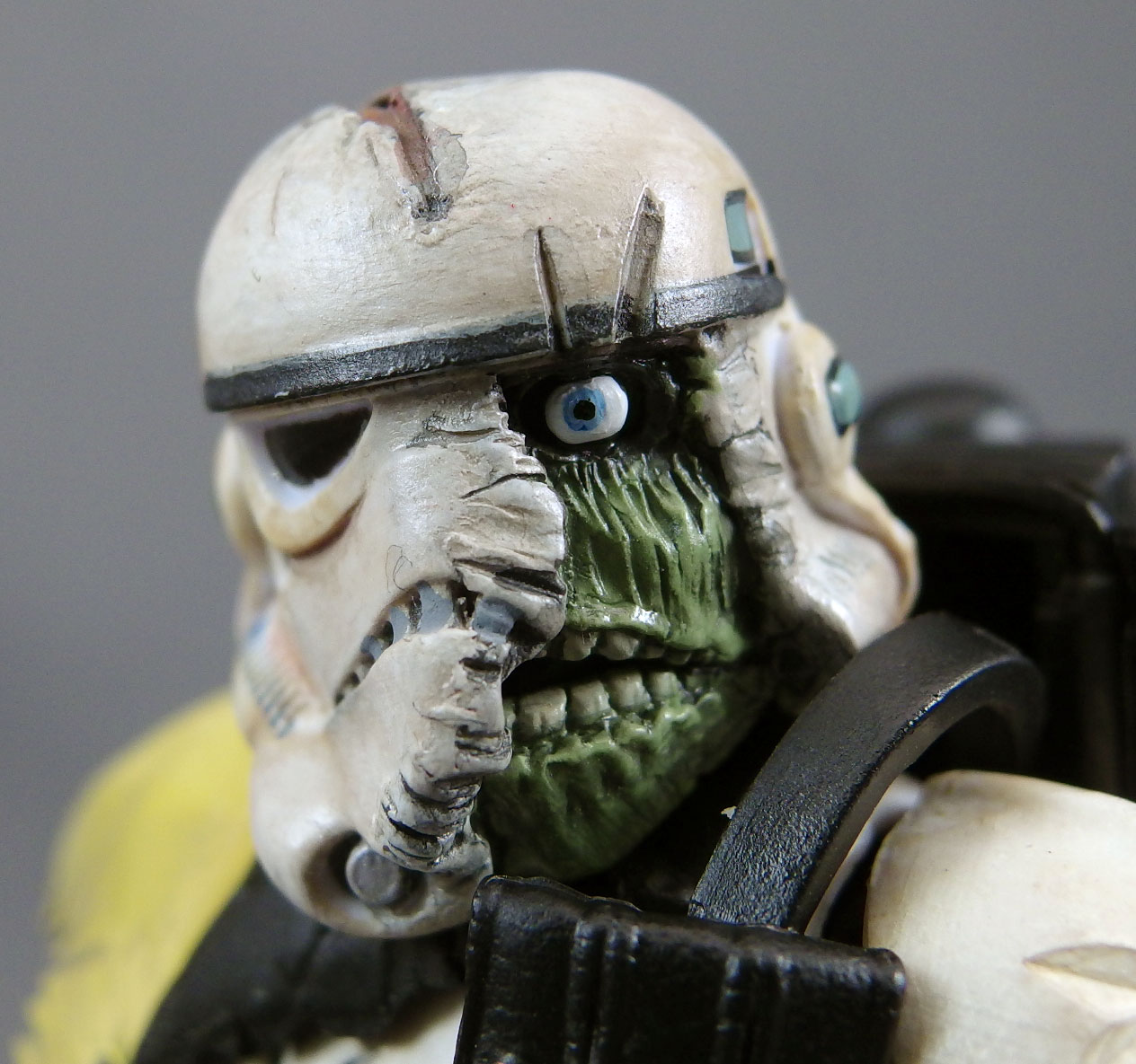 Attack of the Death Trooper (Star Wars Black Zombie Sandtrooper Custom by Joe Amaro)