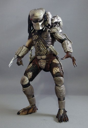 This is as much as the Predator can squat.