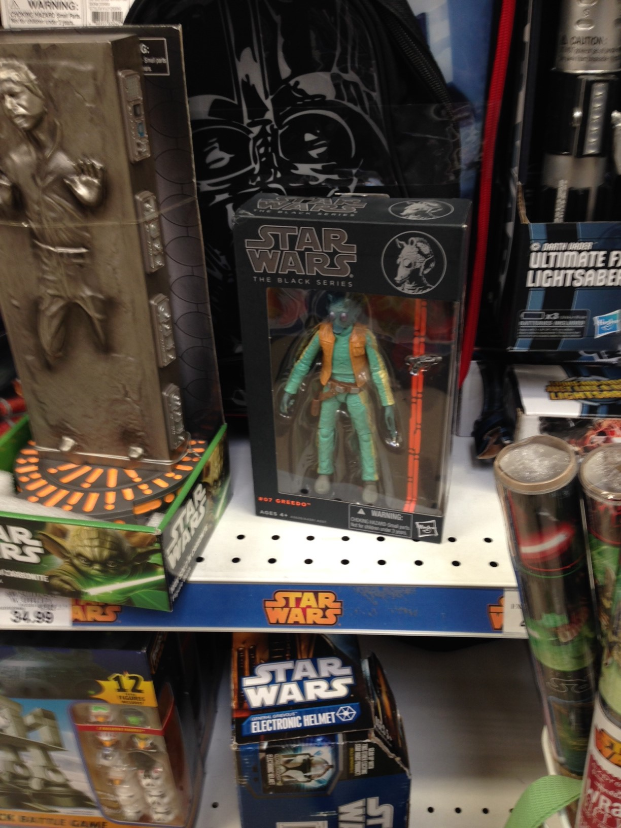 Poe's Point > Anecdotal evidence proves Star Wars Black 6″ is doing great!
