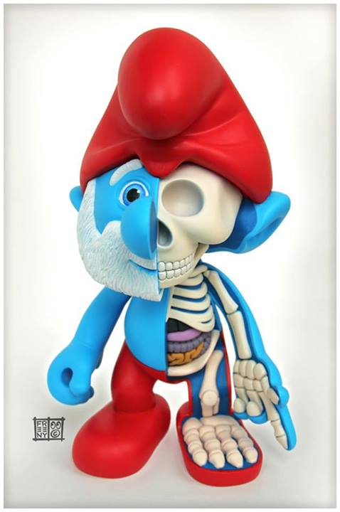The Amazing, Horrifying Inner Guts of Classic Toy Characters