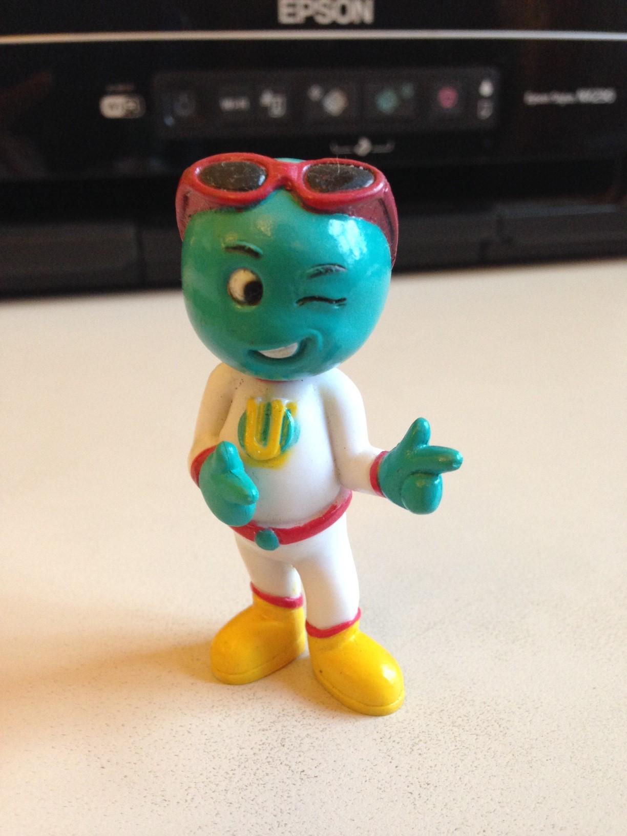 Identify the Toy > Positive Attitude Alien