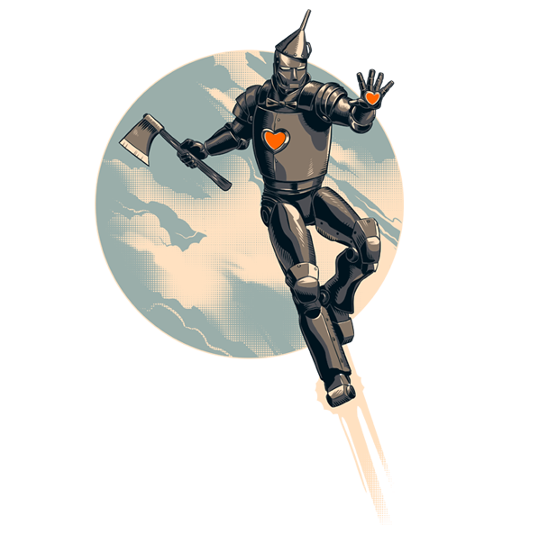 The Invincible Tin Man
