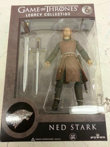 Funko Legacy Game of Thrones Revealed (via eBay)