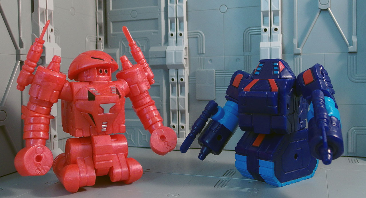 Review > Reforged Hun-Dred the Conqueror and Origin Enemy the Dictator (Robo Force, ToyFinity)
